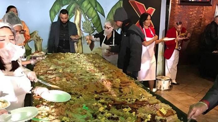 Establece el mangú dominicano Record Guinness en Nueva York